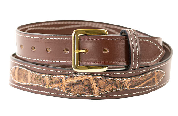 Exotic Custom Leather Belt